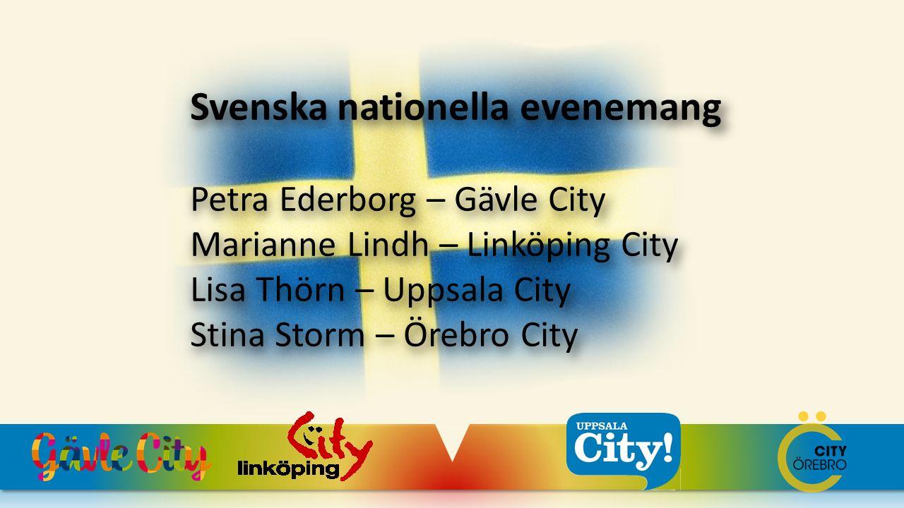 Svenska nationella evenemang
