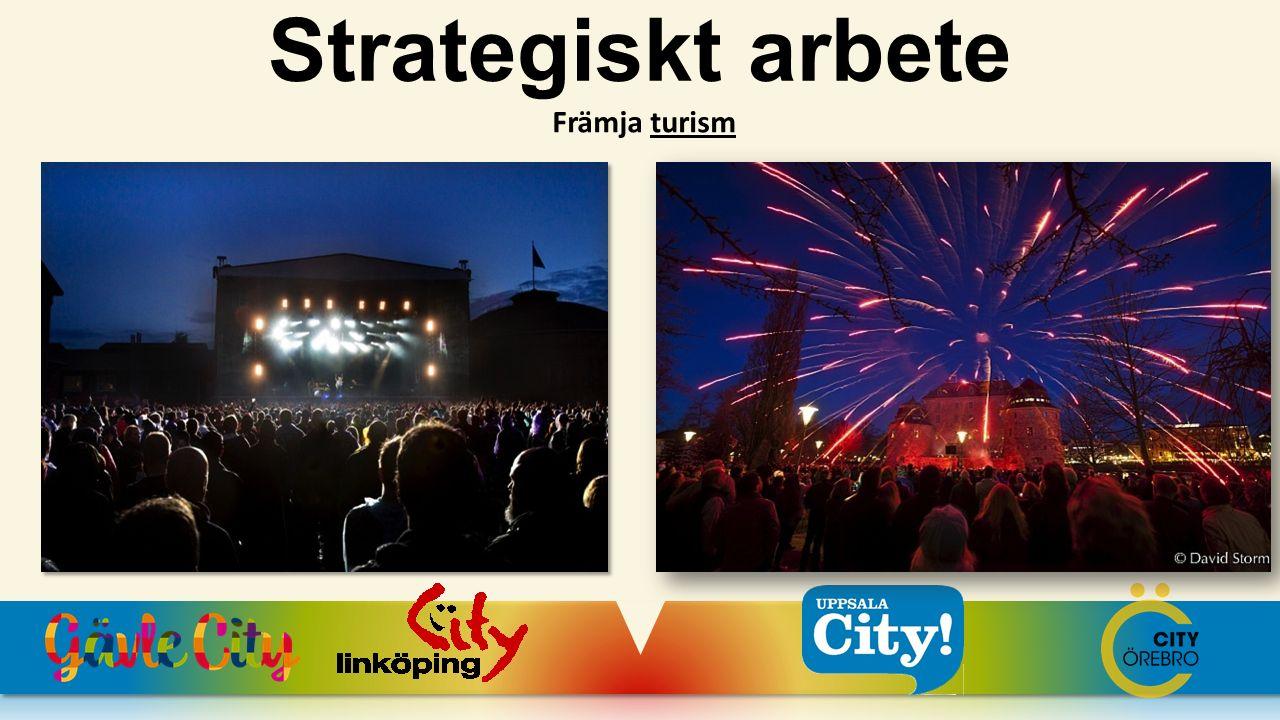 Strategiskt arbete Främja turism