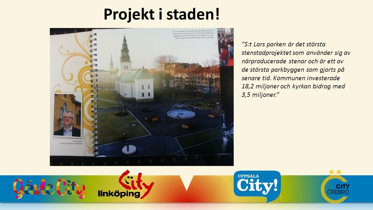 Projekt i staden!