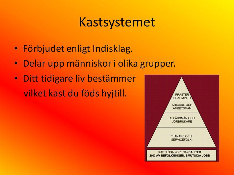 Kastsystemet Förbjudet enligt Indisklag.
