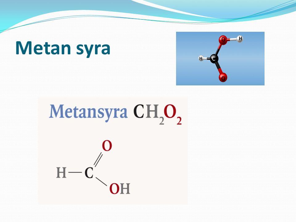 Metan syra