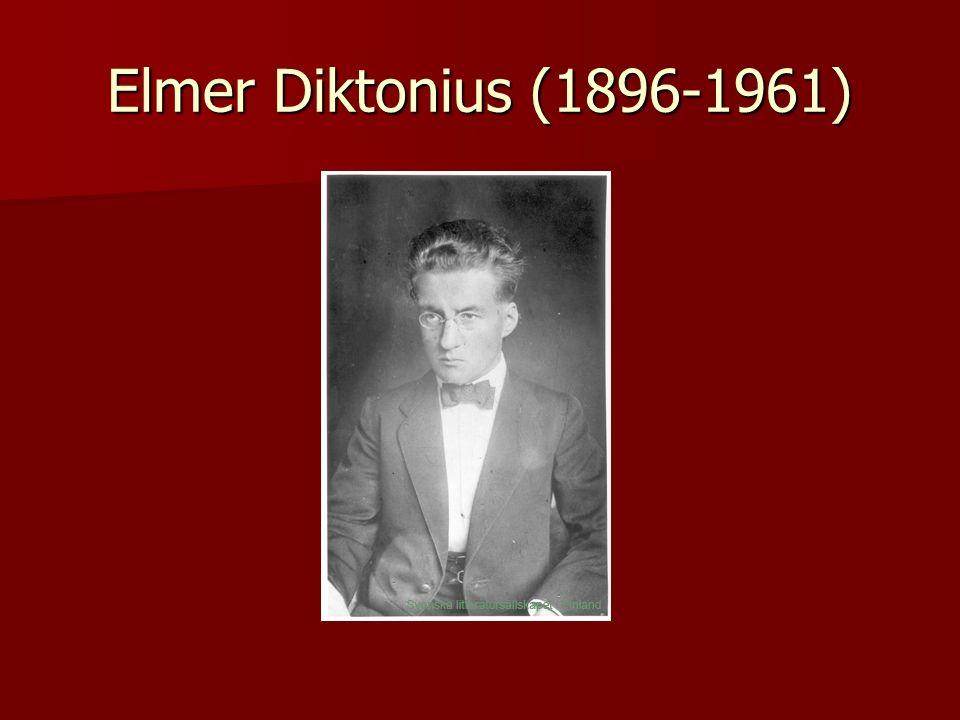 Elmer Diktonius (1896-1961)