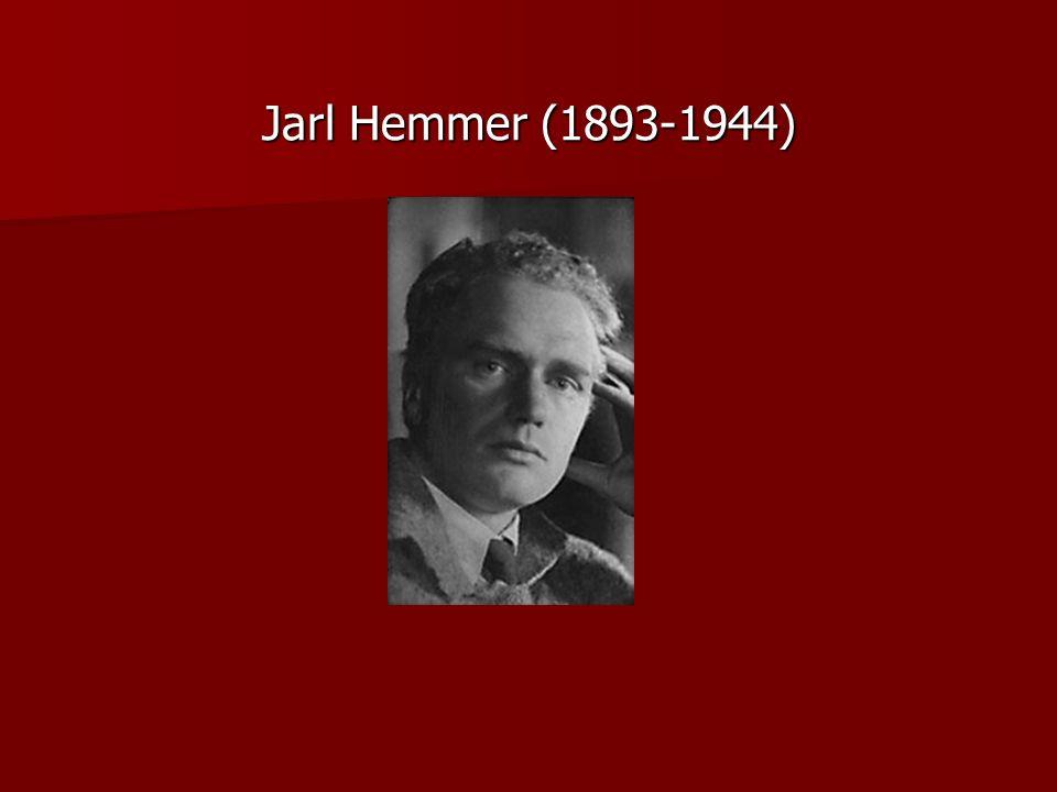 Jarl Hemmer (1893-1944)