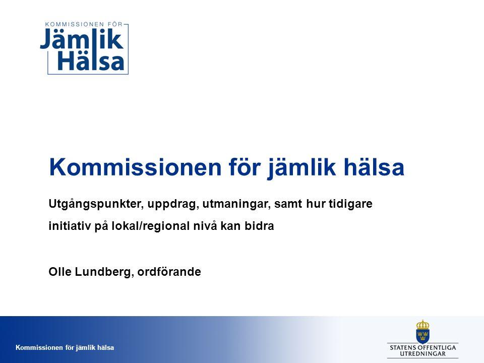 Kommissionen för jämlik hälsa