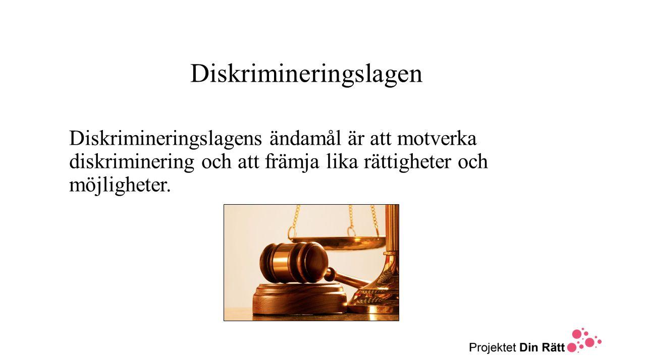 Diskrimineringslagen