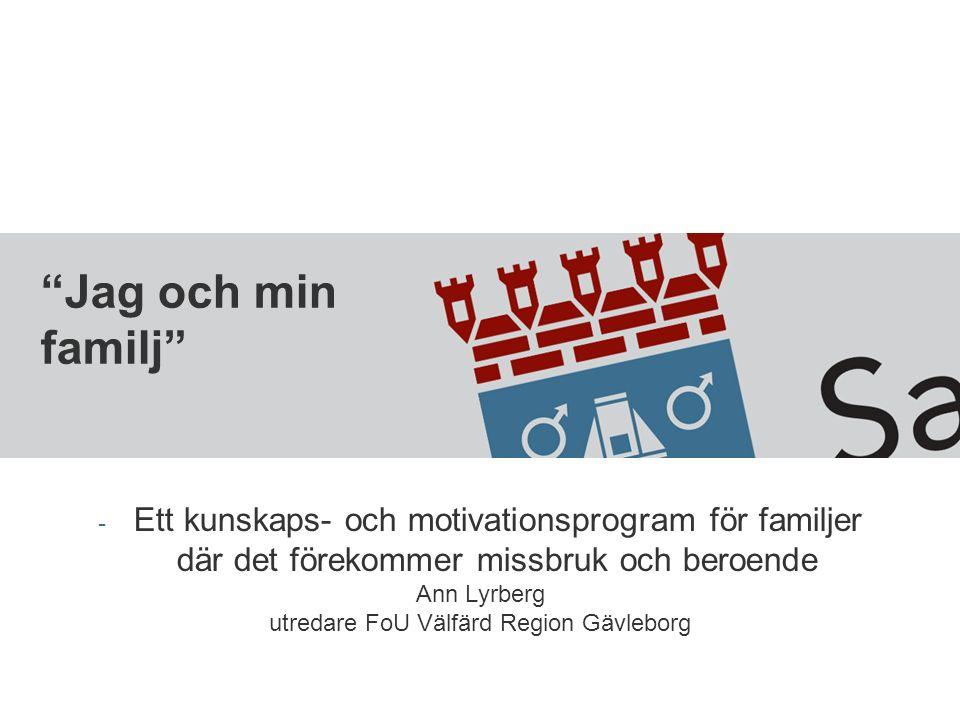 utredare FoU Välfärd Region Gävleborg