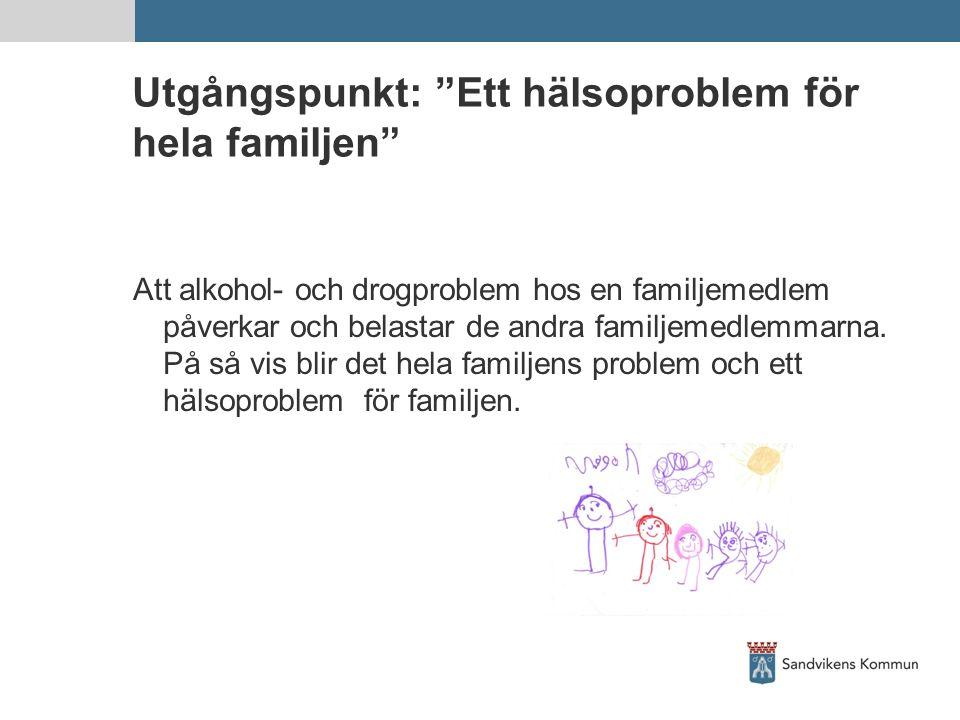 Utgångspunkt: Ett hälsoproblem för hela familjen