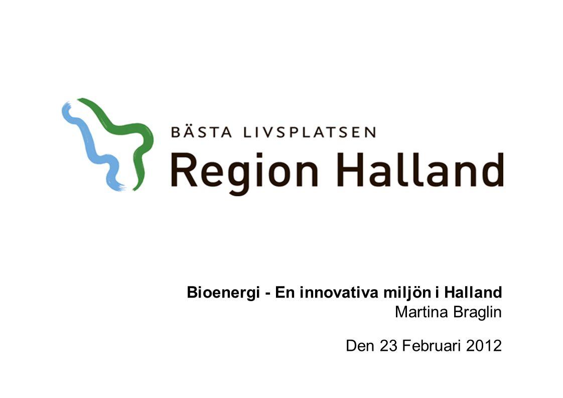 Bioenergi - En innovativa miljön i Halland Martina Braglin