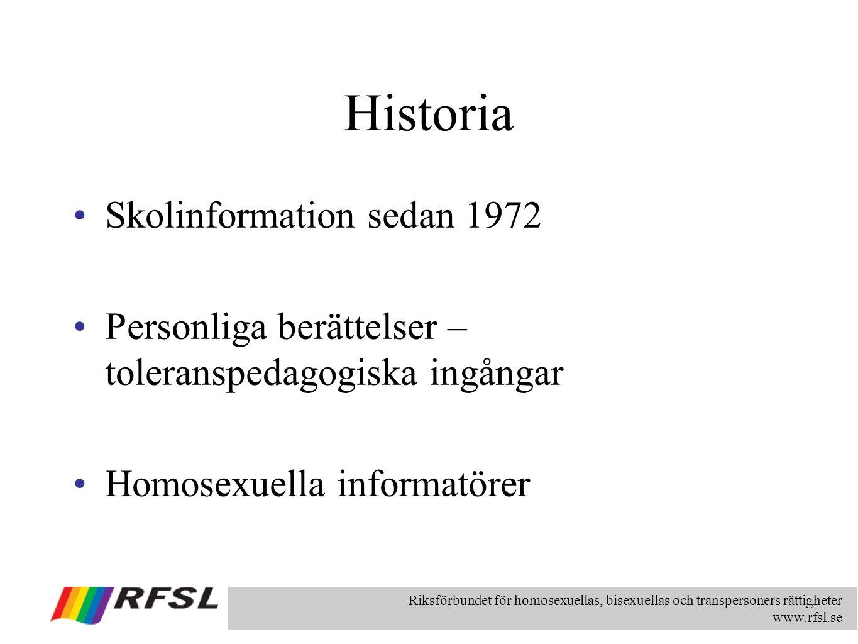 Historia Skolinformation sedan 1972