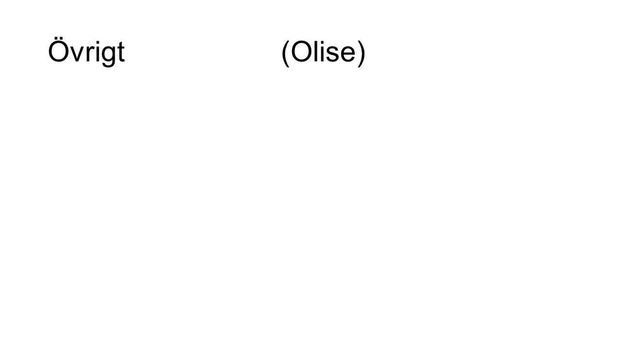 Övrigt (Olise)