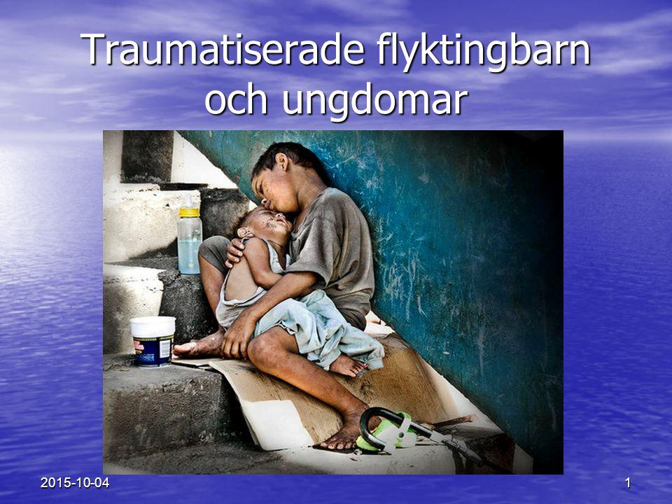 Traumatiserade flyktingbarn och ungdomar
