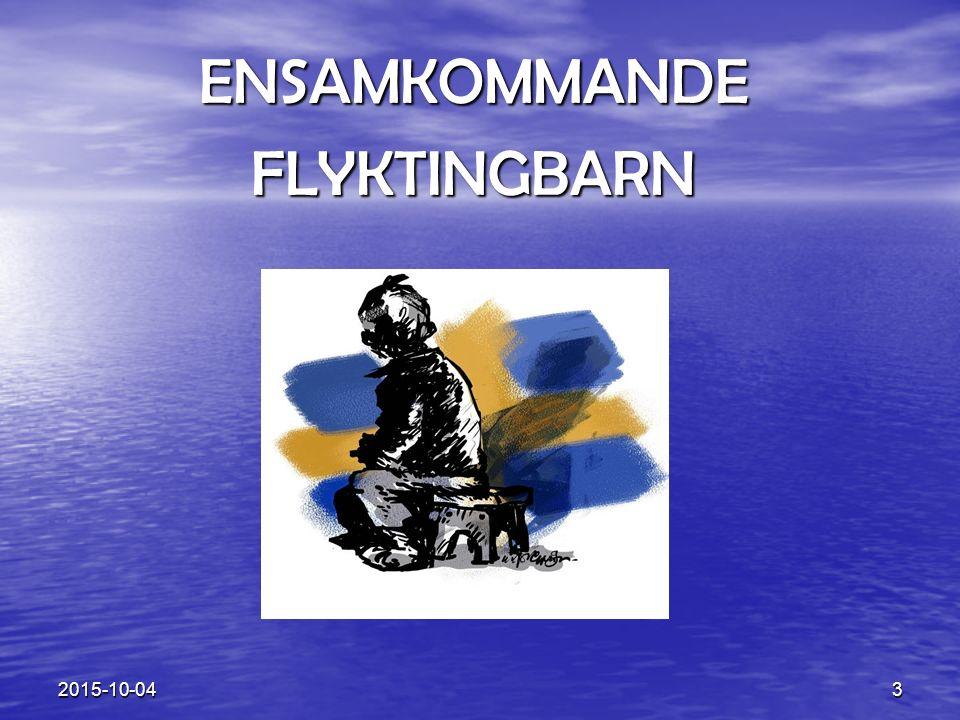 ENSAMKOMMANDE FLYKTINGBARN 2017-04-23