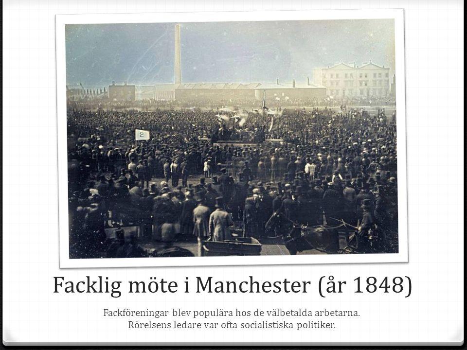 Facklig möte i Manchester (år 1848)