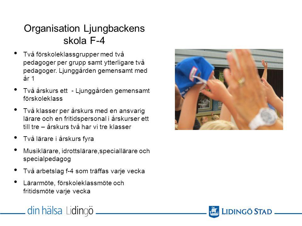 Organisation Ljungbackens skola F-4