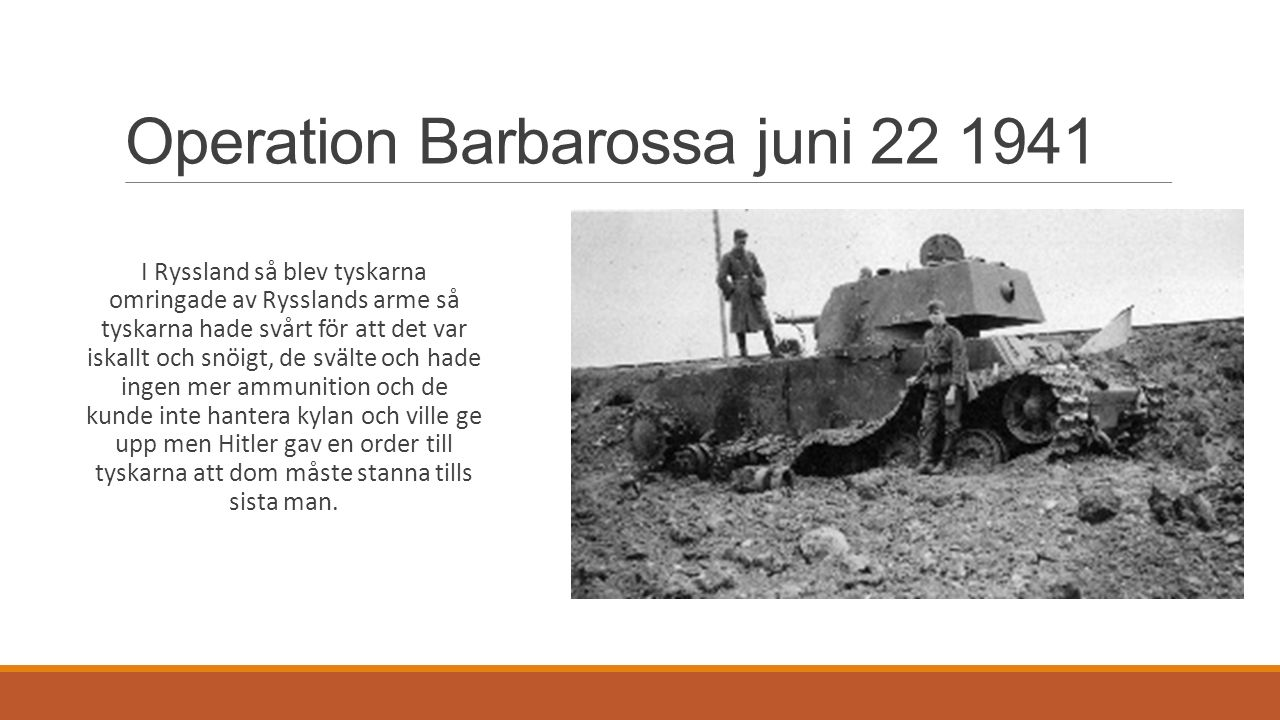 Operation Barbarossa juni 22 1941