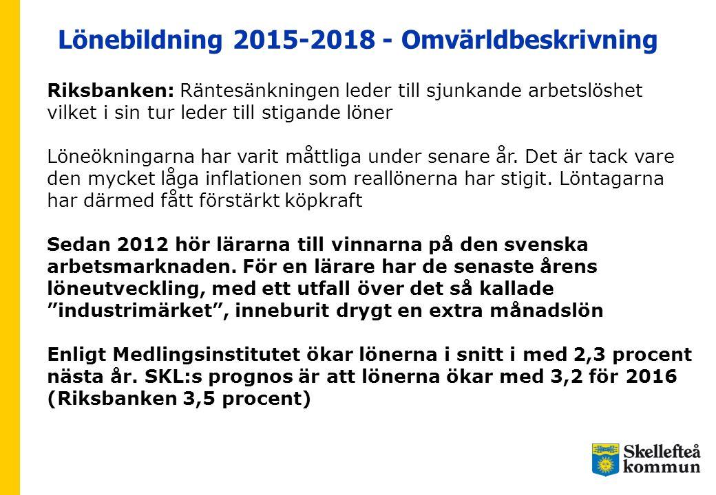 Lönebildning 2015-2018 - Omvärldbeskrivning