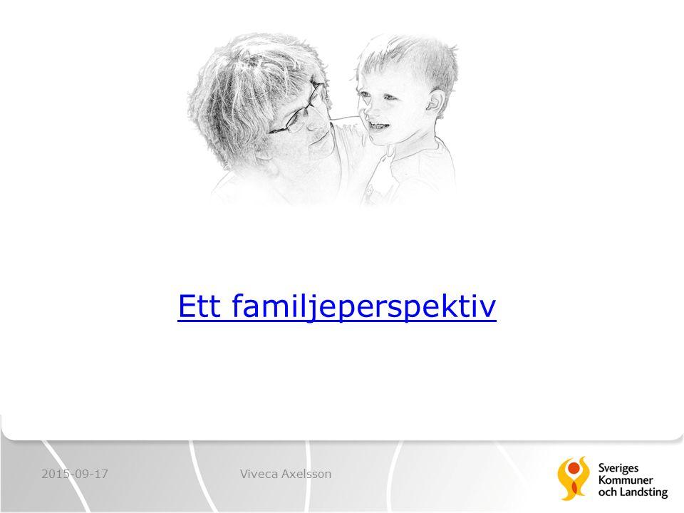 Ett familjeperspektiv