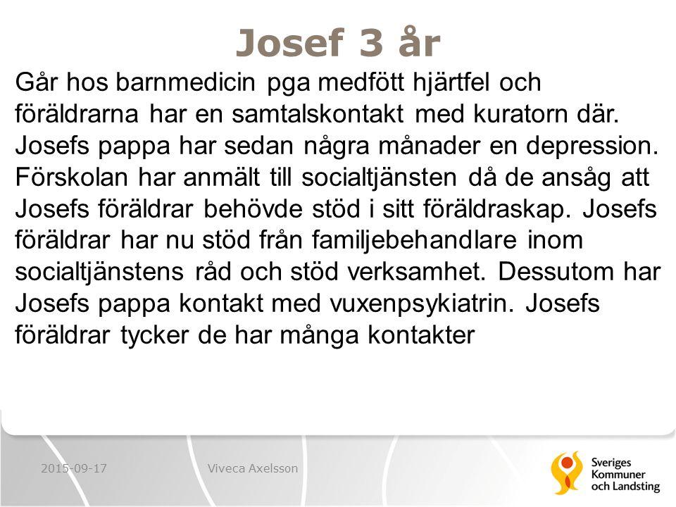 Josef 3 år