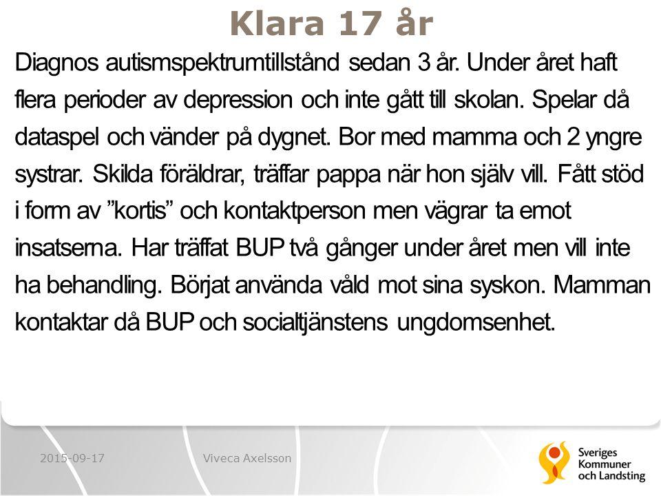 Klara 17 år