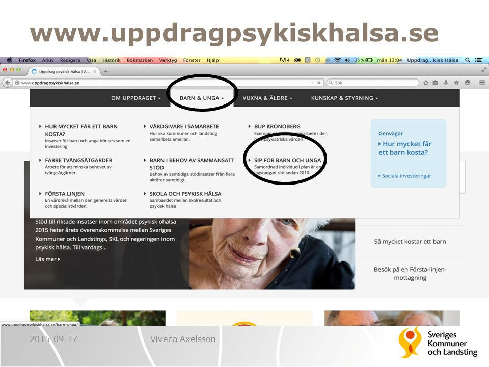 www.uppdragpsykiskhalsa.se 2015-09-17 Viveca Axelsson