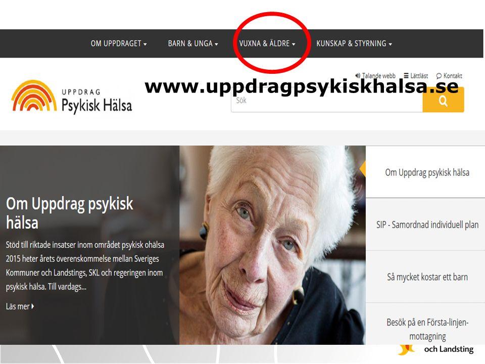 www.uppdragpsykiskhalsa.se WWW.UPPDRAGPSYKISKHALSA.SE Klicka på