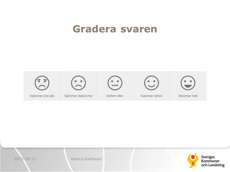 Gradera svaren 2015-09-17 Viveca Axelsson