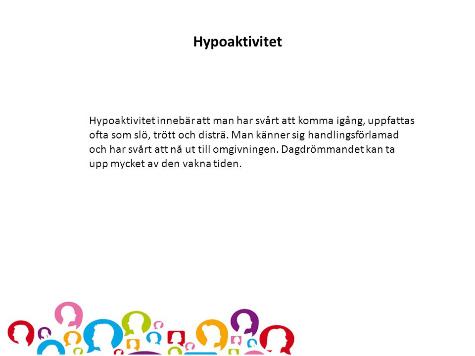 Hypoaktivitet