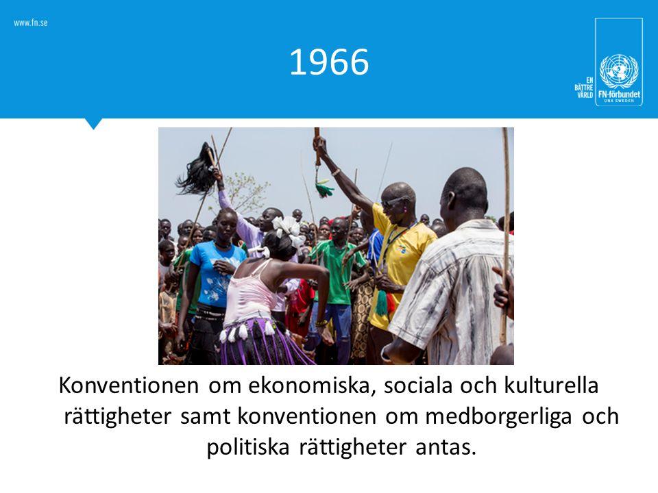 1966 Konventionen om ekonomiska, sociala och kulturella rättigheter.