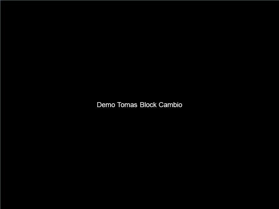 Demo Tomas Block Cambio