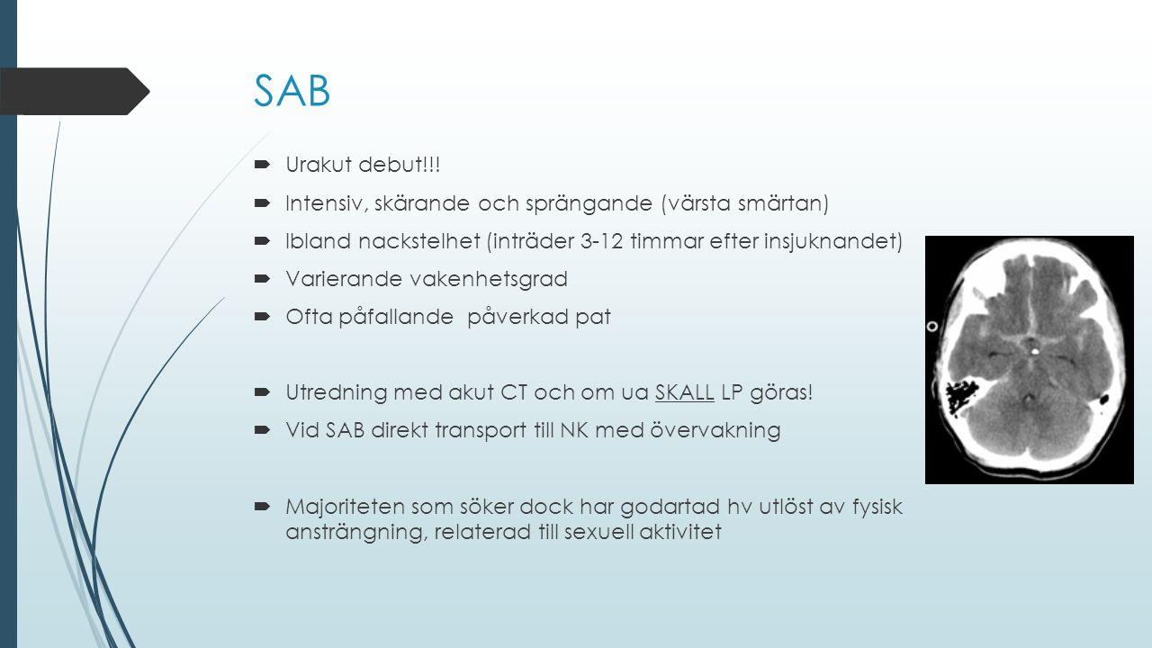 SAB Urakut debut!!! Intensiv, skärande och sprängande (värsta smärtan)