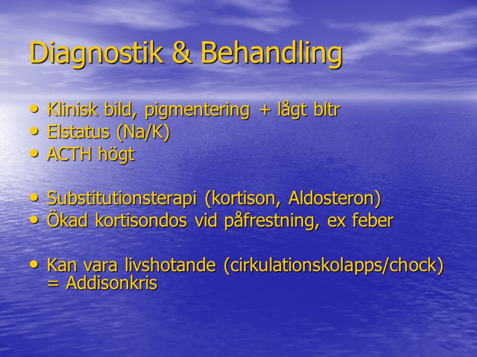 Diagnostik & Behandling