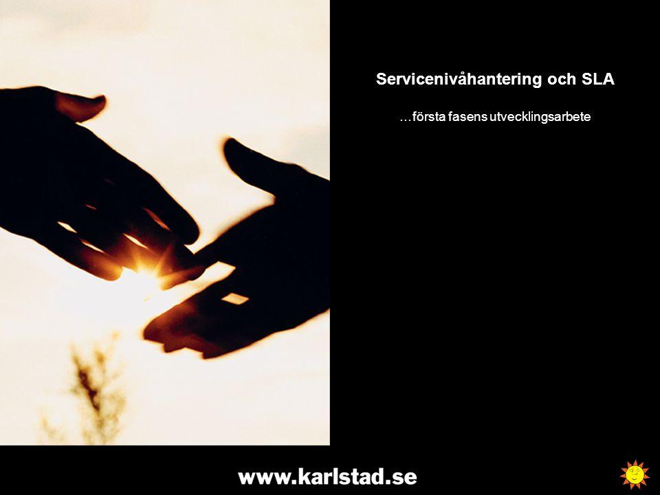 Servicenivåhantering och SLA