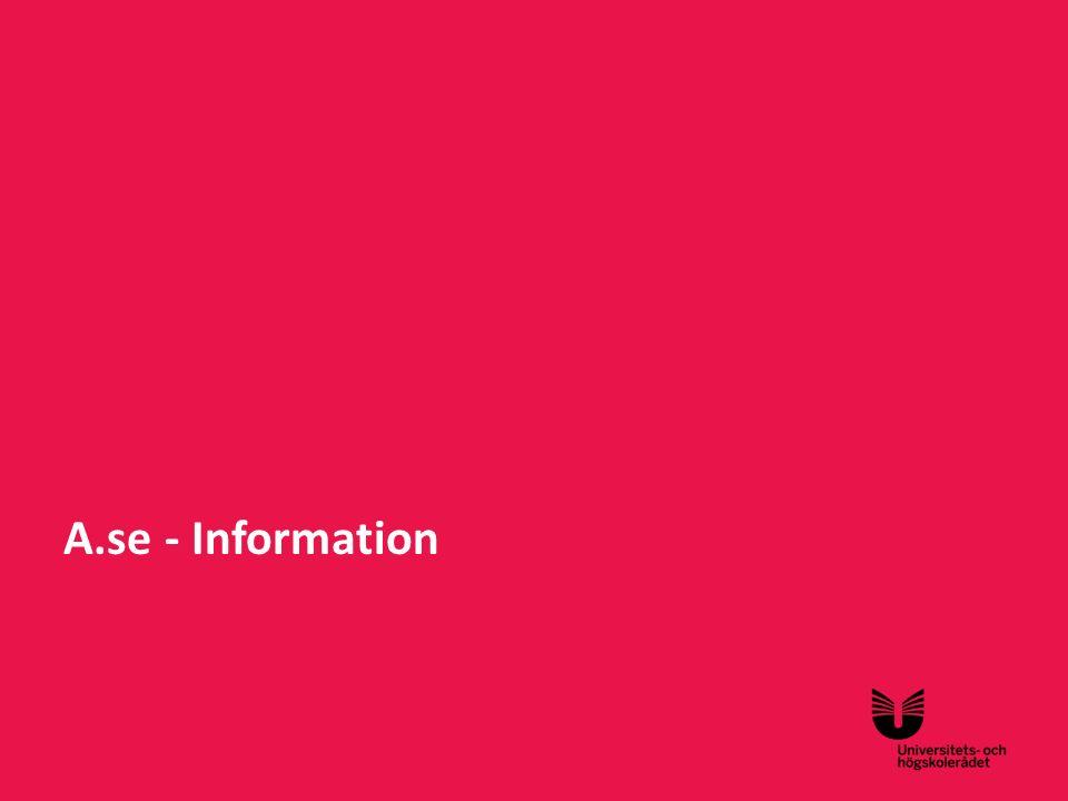 A.se - Information