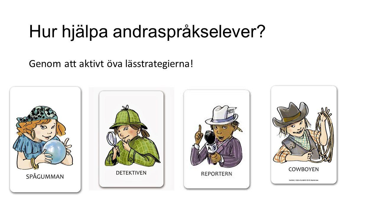 Hur hjälpa andraspråkselever
