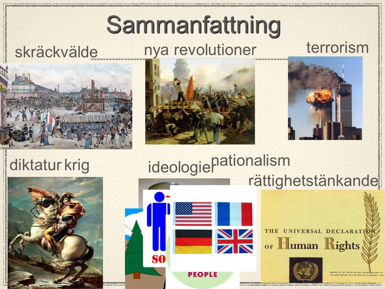 Sammanfattning terrorism nya revolutioner skräckvälde nationalism