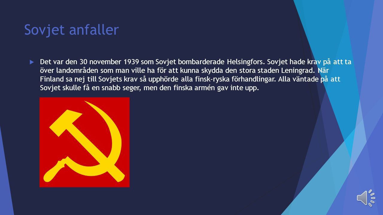 Sovjet anfaller