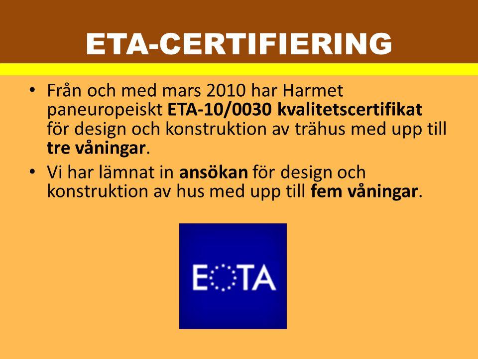 ETA-CERTIFIERING