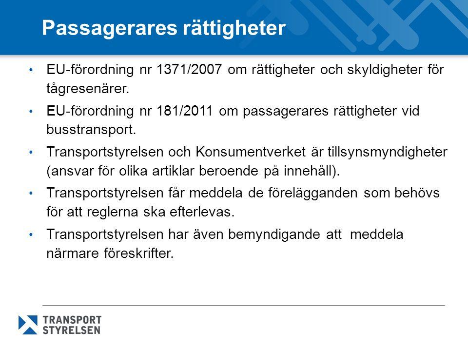 Passagerares rättigheter
