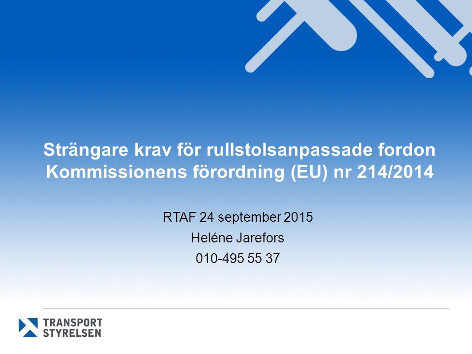 RTAF 24 september 2015 Heléne Jarefors 010-495 55 37