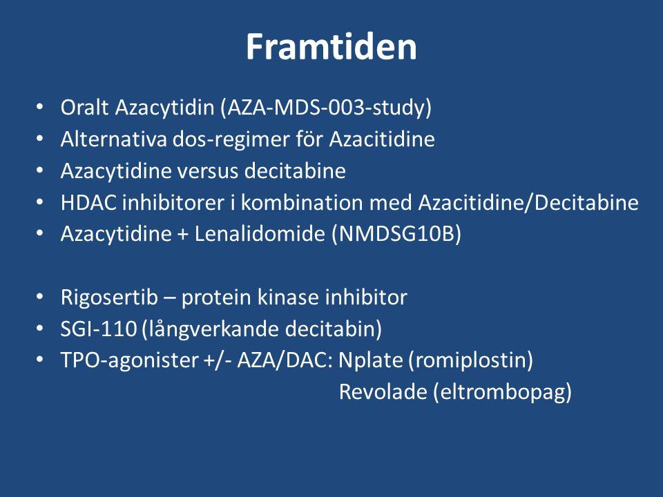 Framtiden Oralt Azacytidin (AZA-MDS-003-study)