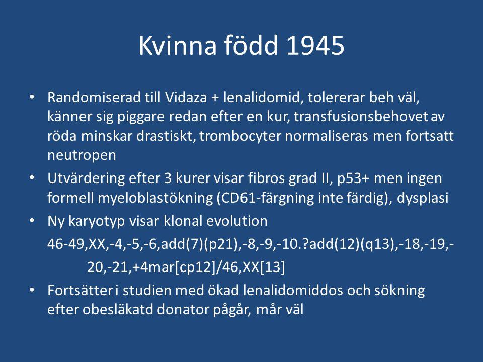 Kvinna född 1945