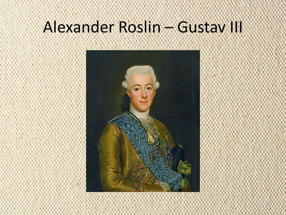 Alexander Roslin – Gustav III