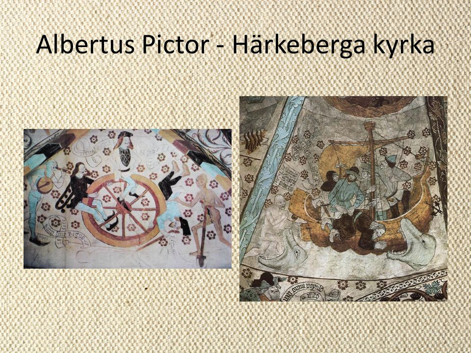 Albertus Pictor - Härkeberga kyrka