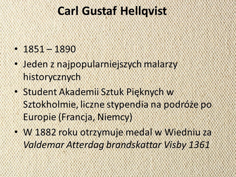 Carl Gustaf Hellqvist 1851 – 1890