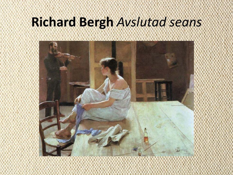 Richard Bergh Avslutad seans