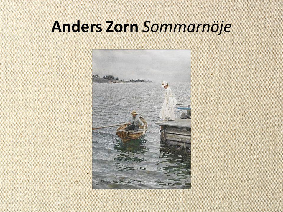 Anders Zorn Sommarnöje