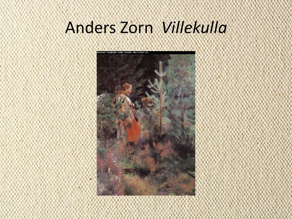 Anders Zorn Villekulla