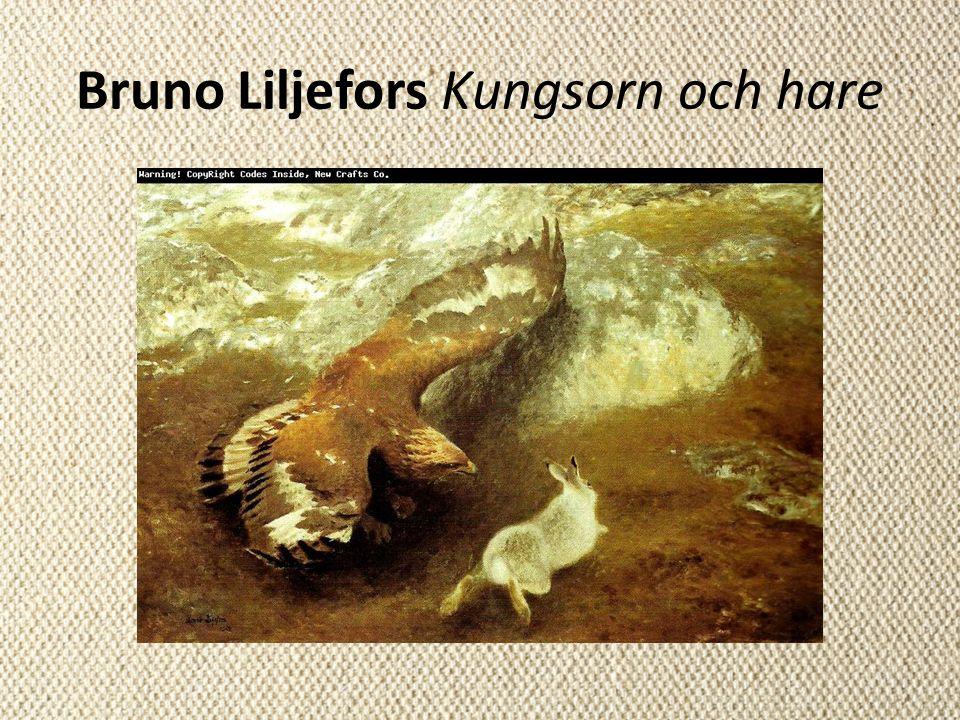Bruno Liljefors Kungsorn och hare