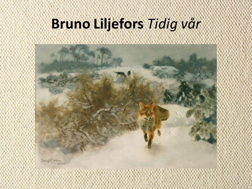 Bruno Liljefors Tidig vår