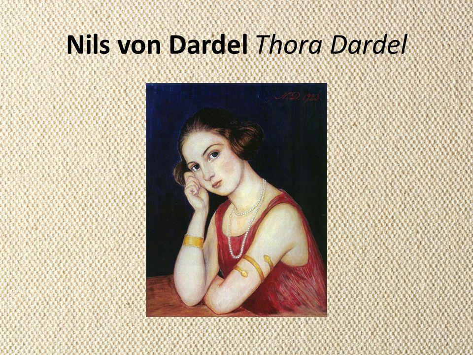 Nils von Dardel Thora Dardel